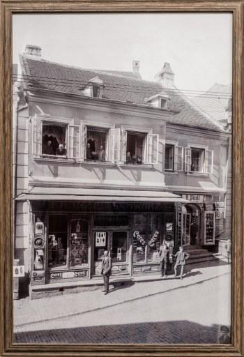 Historisches Foto von Faber Haus